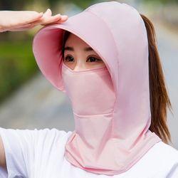 가르미 여성 햇빛 자외선 차단 마스크 벙거지 두건