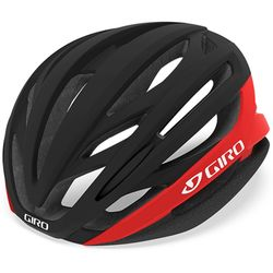 GIRO정품 아시안에어핏 SYNTAX 자전거헬멧 블랙레드