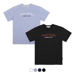 빅 스튜디오 하프 티셔츠 Big studio Half T-Shirt (4color)