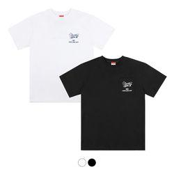 에어 포켓 하프 티셔츠 Air Pocket Half T-Shirt (2color)