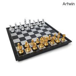 8800 해피타운 휴대용 자석 체스(중형)