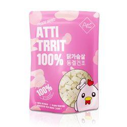 강아지 동결건조 간식 아띠트릿 닭가슴살 60g
