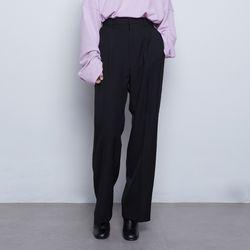 W56 over bon setup wide slacks black