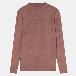 보들반짝이반목스웨터TUKA21101