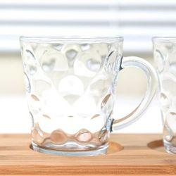 글라스락 수정머그/유리컵