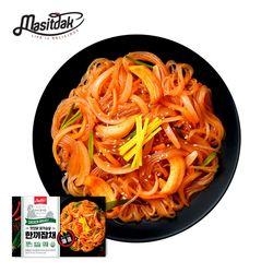 [무료배송] 닭가슴살 한끼잡채 매콤맛 200gx20팩(4kg)