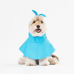 물텀벙 레인 코트 (블루)