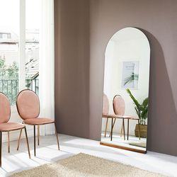 침실 드레스룸 매장 벽걸이 전신 노프레임 아치형 거울 1800x800