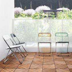 식탁 테이블 야외 간이 접이식 폴딩 의자
