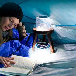 태양광 충전 방수 캠핑랜턴 태양열 텐트 LED램프 조명