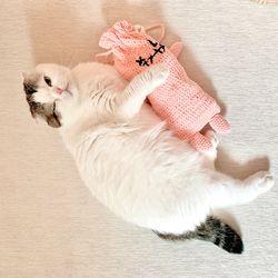 몬스터 캣닢쿠션 파우치 고양이장난감 뒷발팡팡
