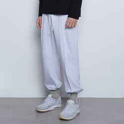 M99 daily wide string pants melange