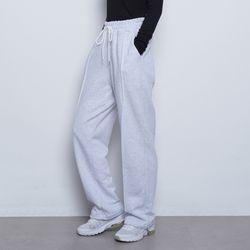 W99 daily wide string pants melange