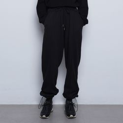 W99 daily wide string pants black