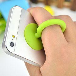 STAND 핸드폰 실리콘 흡착식 거치대 핑거그립 스마트톡