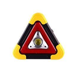 차량용 캠핑 LED 안전 표시등 삼각대 비상 랜턴 더쎈