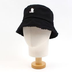 Black Vintage Short Bucket Hat SV 버킷햇