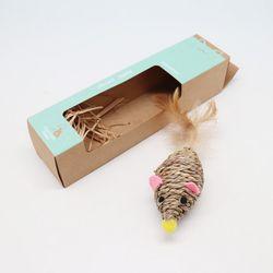 고양이를 위해 해초로 만든 장난감 타래-마우스