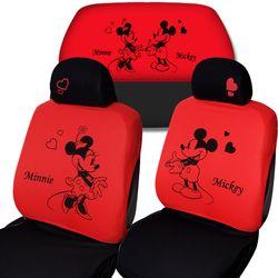 디즈니 미키마우스 패션 자동차시트커버 3P