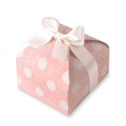 (인디고샵)핑크도트 에꼬 상자 소 (2set)