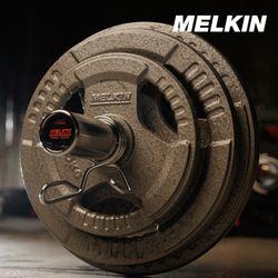 멜킨 바벨 원판 주물 데드리프트 경량 30mm 역기 20kg 1개
