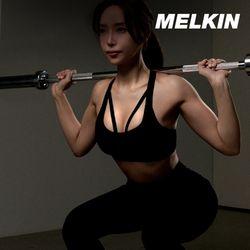 멜킨 크롬 바벨봉 중량 50mm 스트레이트바 역기 1500mm