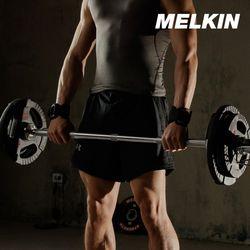 멜킨 크롬 바벨봉 경량 28mm 스트레이트바 역기 1300mm