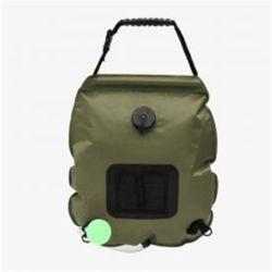 온도측정 캠핑 샤워기(20L) (그린)/ 휴대용샤워기