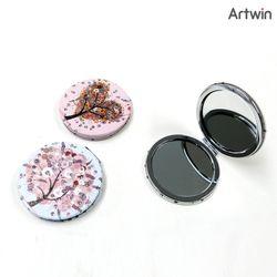 3500 큐빅 원형 손거울