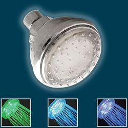 발광 LED 샤워기 헤드 화장실 욕실 샤워헤드 입식욕조