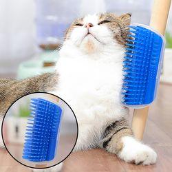 셀프그루머 고양이 빗 그루밍 브러시 스크레쳐 장난감