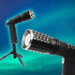 줌 라이트 후레쉬 USB충전 캠핑랜턴 LED손전등 투광기