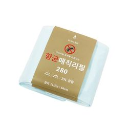 항균 매직리필 280 1묶음 타사호환 리필봉투