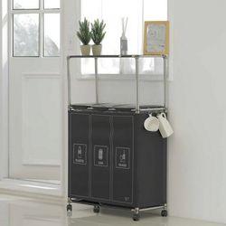 이지핏 분리수거함 3구 매직타입[연속봉투]