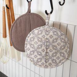 소소모소 프렌치 주방장갑 겸 냄비받침 - 패턴