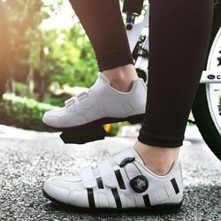 맥다이나믹스 클릿없는 평페달 자전거신발WHITE