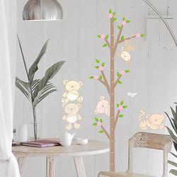 KR-0031 나무  키재기 스티커