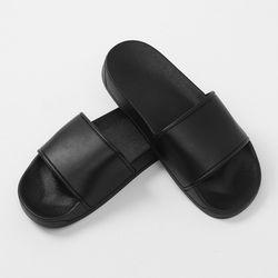 심플리 무지 슬리퍼(250mm) (블랙)