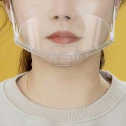 세이프 조리용 위생 마스크 10p세트(투명)
