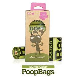 반려견풉백 PoopBags 생분해배변봉투 리필8롤 총120매