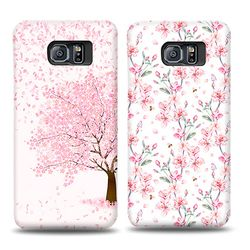 프리미엄 카드수납 벚꽃날리는 날(아이폰XS MAX)