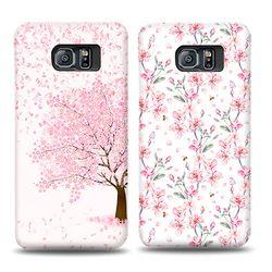 프리미엄 카드수납 벚꽃날리는 날(아이폰XXS)