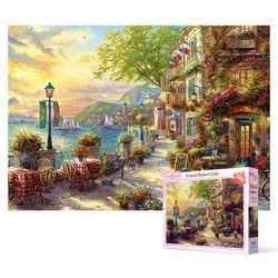1000피스 직소퍼즐 - 리비에라 꽃의 거리 2