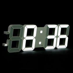 모모스 3D 무소음 LED 벽시계 인테리어 벽걸이 시계 대형 45cm