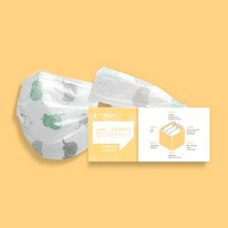 합리적인 코끼리 마스크 50매 (유아용)(티슈형)
