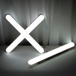 LED 일자등 십자등 형광등 모음 번개표 필립스 샤이닉스