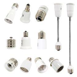 LED전구 전등 변환 자바라 연장 소켓 E26 E14 E17 E39