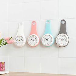 물방울 욕실시계 4color