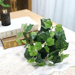 지피식물 그린테리어 가드닝 고급조화 포도잎 부쉬