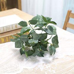 지피식물 그린테리어 가드닝 고급조화 휘토니아 부쉬